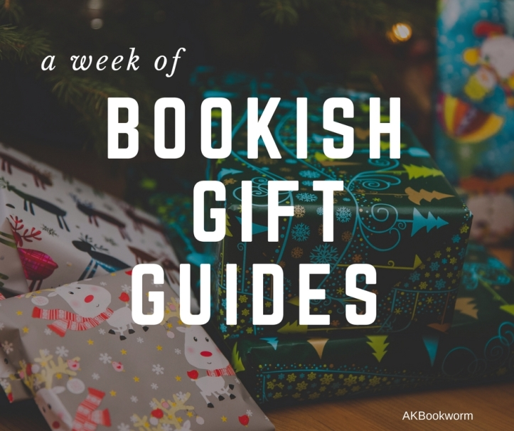 Bookish christmas gift guides